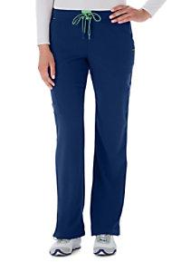 Jockey Contrast Elastic Belt Scrub Pants