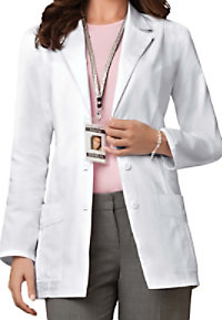 Cherokee consultation lab coat with Certainty.