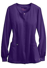 Greys Anatomy Signature Round Neck Warm Up Scrub Jacket