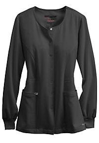 Greys Anatomy Signature Round Neck Warm Up Scrub Jackets