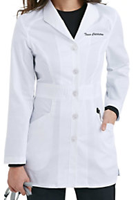Landau Smart Stretch Signature Mid-length Lab Coats