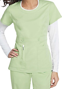 NrG by Barco scoop neck scrub top.