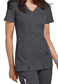 NrG by Barco 2-pocket shaped v-neck scrub top.