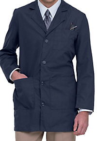 Landau men's tailored lab coat.