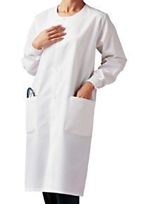 Landau unisex cover lab coat.