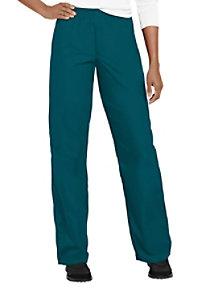 Cherokee Workwear elastic waist pull-on scrub pant.