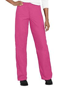 Cherokee Workwear elastic waist scrub pants.