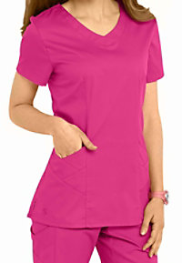 Landau Bliss stretch scoop neck scrub top.