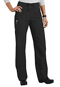 Cherokee Workwear unisex cargo drawstring scrub pants.