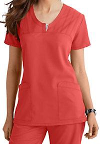 Greys Anatomy v-neck 2-pocket scrub top.