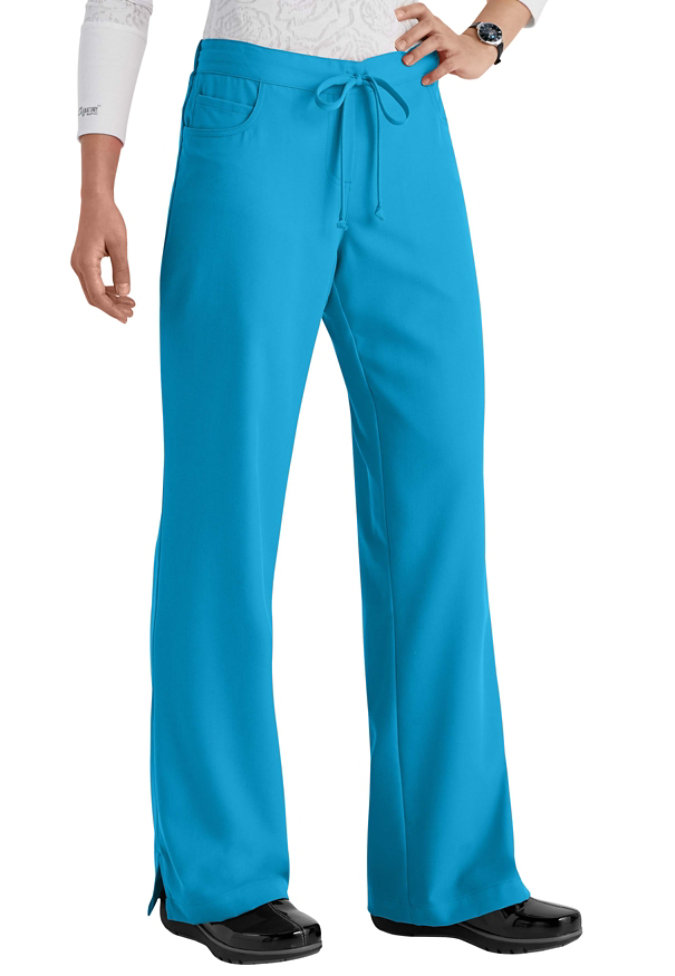 Greys Anatomy 3 Pocket Mock Wrap Scrub Top Scrubs And Beyond