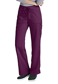 Greys Anatomy drawstring waist 4 pocket cargo scrub pant.