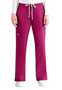 ICU By Barco 5 Pocket Flare Cargo Scrub Pants