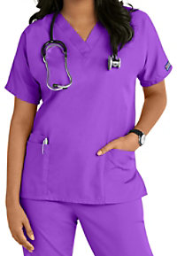 Cherokee Workwear v-neck scrub top.