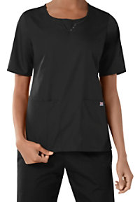 Cherokee Workwear Round Neck Scrub Tops