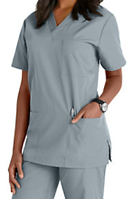 Cherokee Workwear v-neck unisex scrub top.