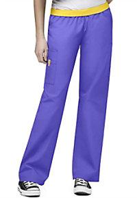 WonderWink Origins Quebec elastic waistband scrub pant.