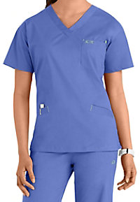 IguanaMed The Classic 3 Pocket V-neck Scrub Tops
