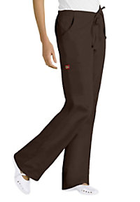 Dickies EDS Medical Uniforms Back Elastic Cargo Scrub Pants