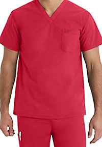 IguanaMed The Unisex V-neck 1 Pocket Scrub Tops