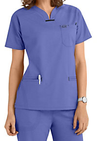 IguanaMed The Quattro V-neck Scrub Tops