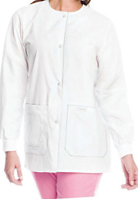 Landau tie back warmup jacket.