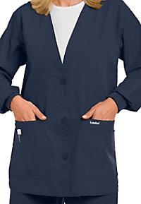 Landau V-neck scrub jacket.