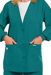 Landau V-neck scrub jacket.
