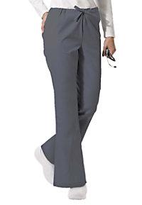 ScrubZone flare-leg scrub pants.