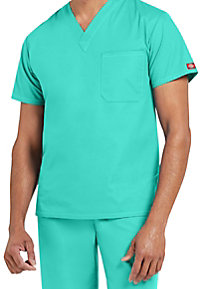Dickies EDS Signature unisex 1-pocket v-neck scrub top
