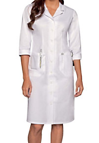 Dickies Professional Whites women's button front dress.