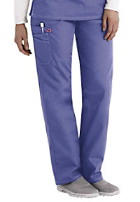 ScrubZone Red unisex scrub pants.