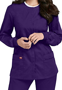 Dickies EDS Signature Snap Front Scrub Jackets