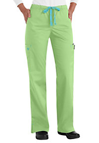 Med Couture Gigi modern fit cargo scrub pant.