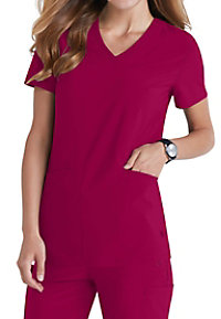 Urbane Performance Motivate v-neck scrub top.