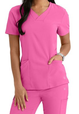f7d66430a90 $32.99 More Details · Urbane Performance crossover v-neck scrub top. -  Cotton Candy - L