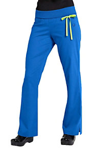 Urbane Sport knit roll-top yoga STRETCH scrub pant.