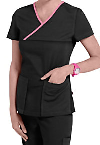 Urbane Ultimate Mandi Crossover Scrub Tops