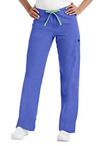 Urbane cargo pocket scrub pants.