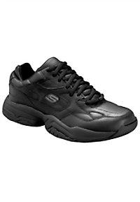 Skechers Keystone Mens Slip Resistant Athletic Shoes
