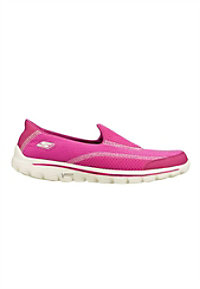 Skechers GOwalk 2 slip on athletic shoes.