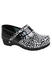 Koi by Sanita Lindsey Lava nursing shoes.