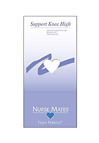 Nurse Mates Support Knee Highs