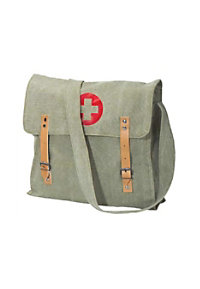 Rothco distressed canvas medic bag.