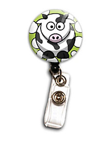 Initial This Animal Badge Holders