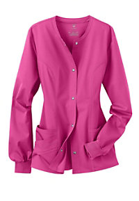 Cherokee Luxe Collection stretch scrub jacket.