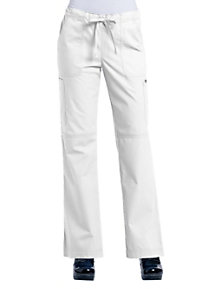 Ecko Tiffany Drawstring Flare-leg Scrub Pants