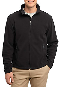 Port Authority Mens Fleece warm-up jacket.