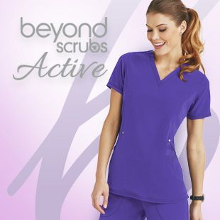 Shop our new line of Beyond Scrubs Active!