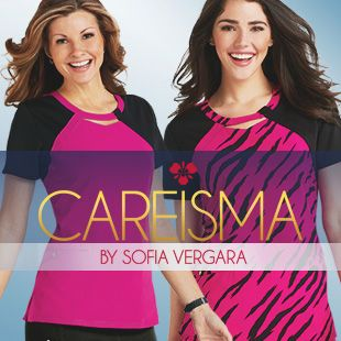 Shop Sofia Vergara's new line of Careisma scrubs